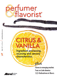 Perfumer & Flavorist March 2015 cover