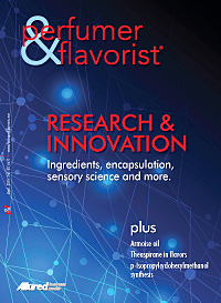 Perfumer & Flavorist April 2015 cover