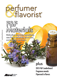 Perfumer & Flavorist June 2015 cover