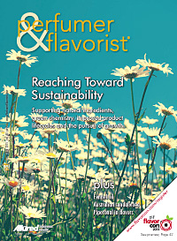 Perfumer & Flavorist July 2015 cover