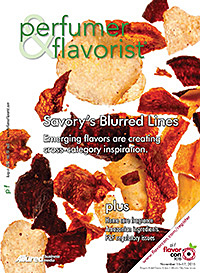 Perfumer & Flavorist August 2015 cover