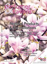 Perfumer & Flavorist September 2015 cover