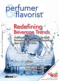Perfumer & Flavorist October 2015 cover