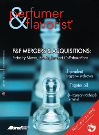 Perfumer & Flavorist May 2016 cover