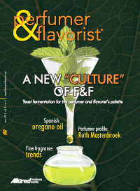 Perfumer & Flavorist June 2016 cover