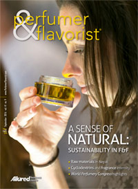 Perfumer & Flavorist September 2016 cover