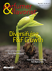 Perfumer & Flavorist May 2017 cover