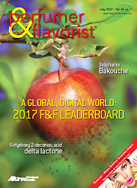 Perfumer & Flavorist July 2017 cover