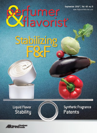 Perfumer & Flavorist September 2017 cover