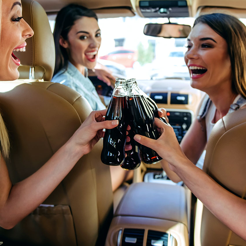 Coca-Cola Enjoyed by Friends