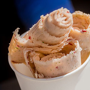 Rolled ice cream
