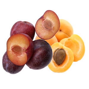 Plums and apricots 300