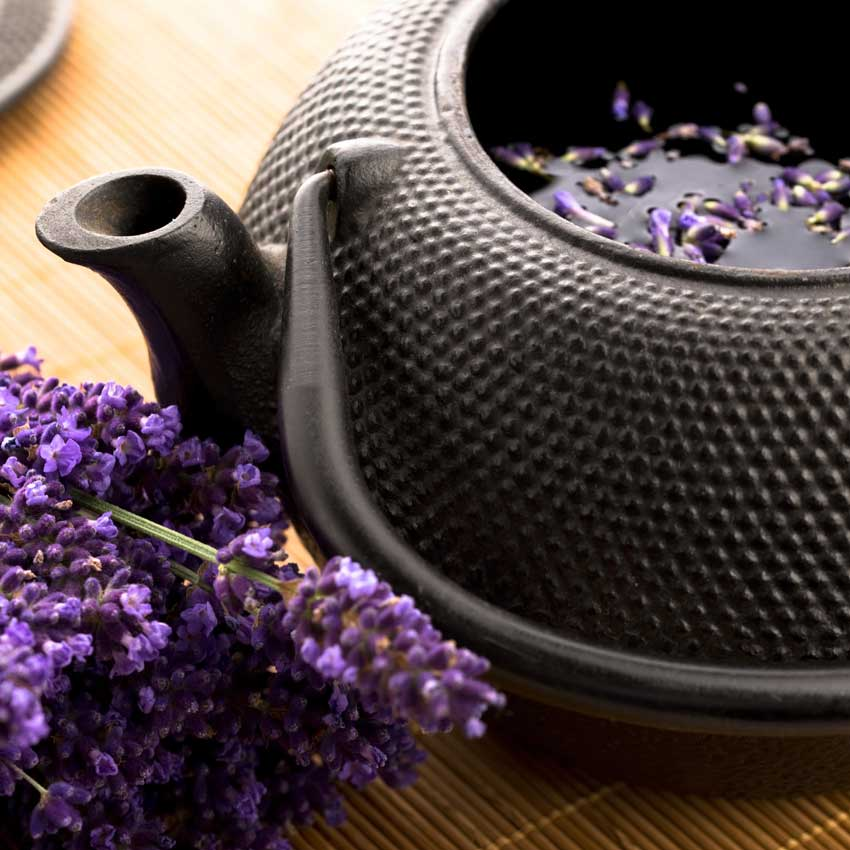 Lavender and tea