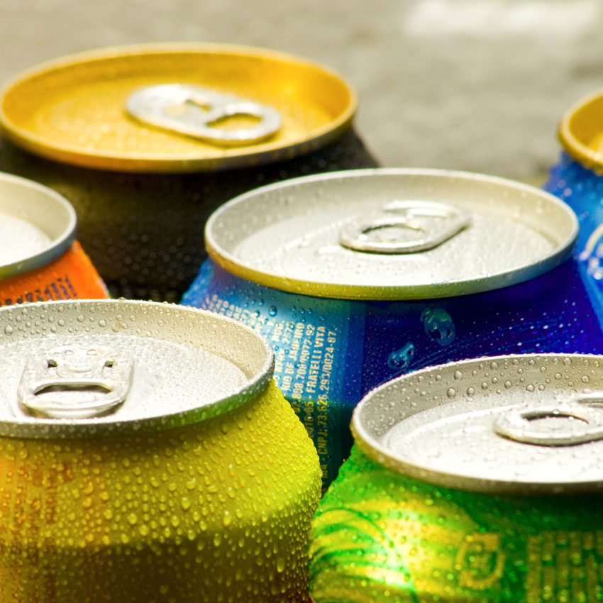 Pop cans