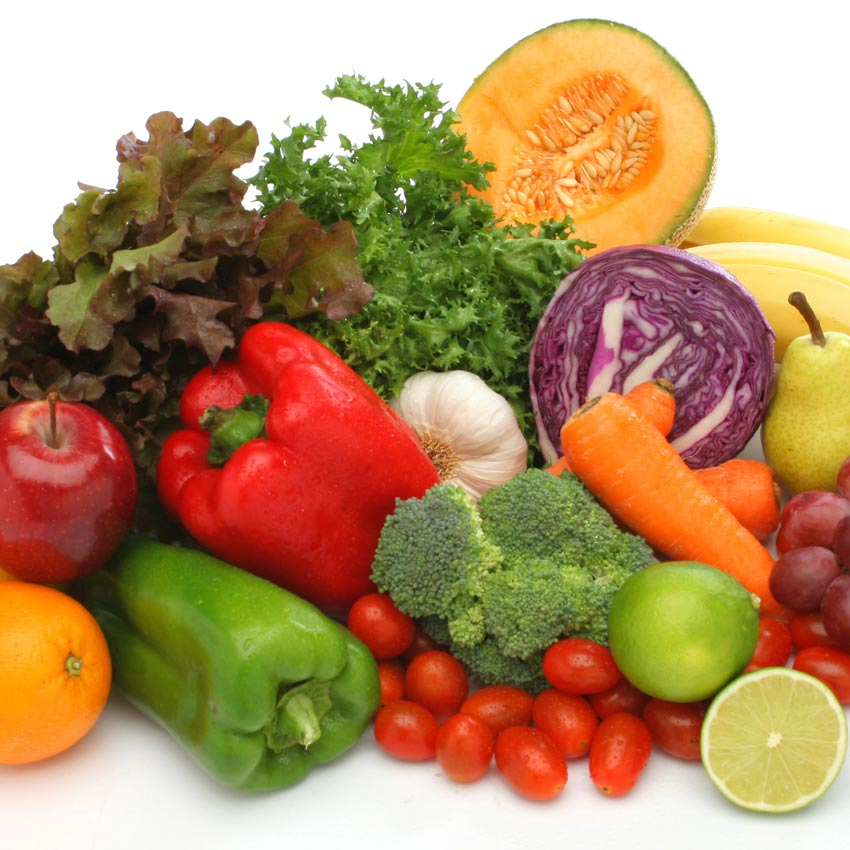 Fruits and vegetables trending