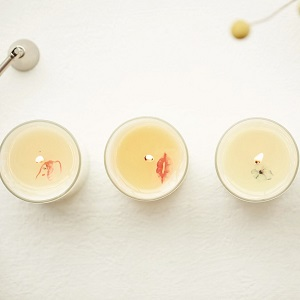 A series of candles