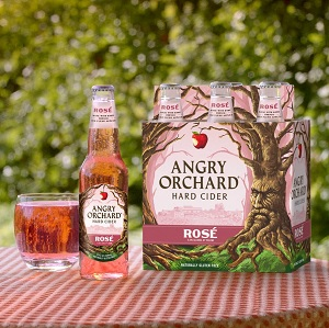 Angry Orchard Shines Rosé Red