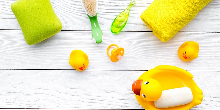 Soap and rubber ducky