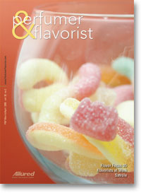 Perfumer & Flavorist March 2005 cover