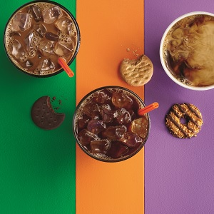 Girl Scout Cookies Meet Coffee at Dunkin' Donuts