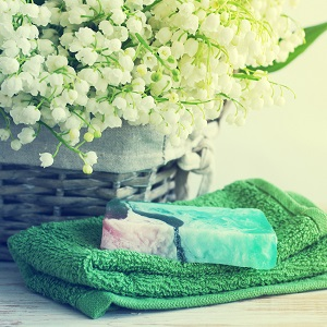 Soap and lily of the valley