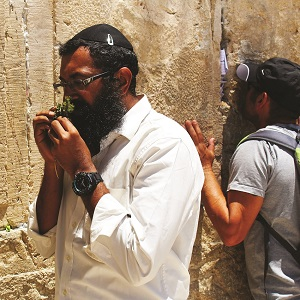 Prayer at the Western Wall