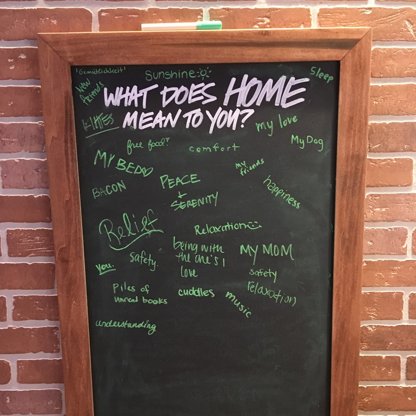 What does home mean?