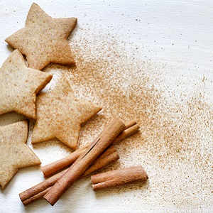 Gingerbread and cinnamon