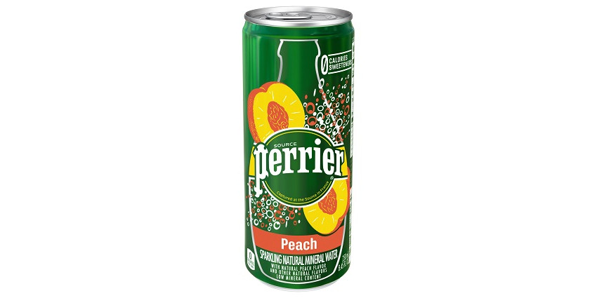 A can of Perrier