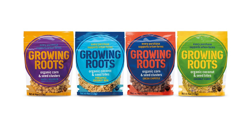 Organic snack products