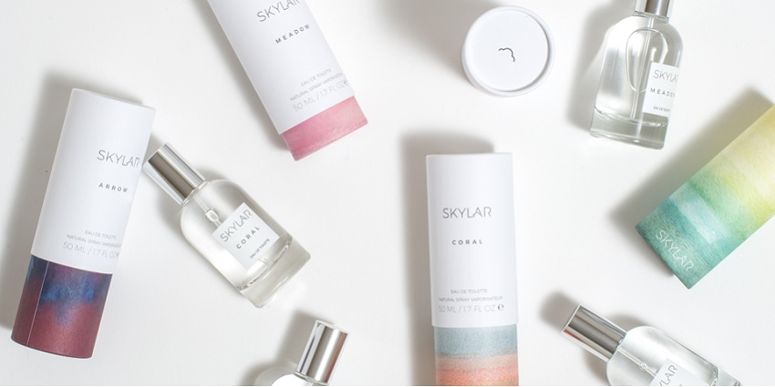A collection of Skylar perfume