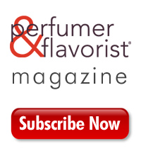 Perfumer &amp; Flavorist logo and &quot;Subscribe Now&quot; button