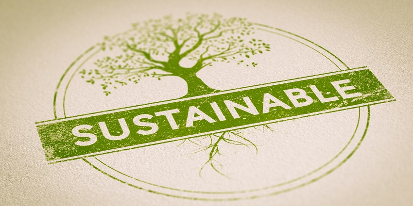 A sustainable logo
