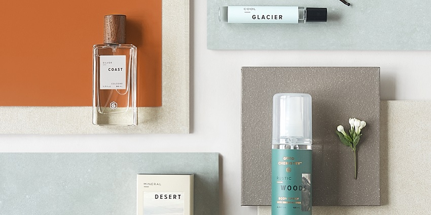 A bunch of Target fragrances