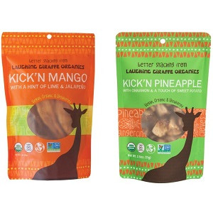 Laughing Giraffe Launches Kick'n Flavored Fruit Snacks