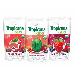 Tropicana Launches Organic Beverages for Kids