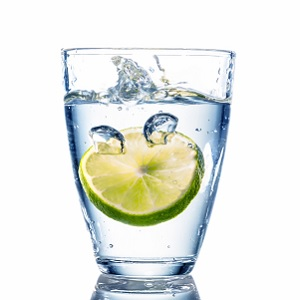 A nice refreshing glass of water